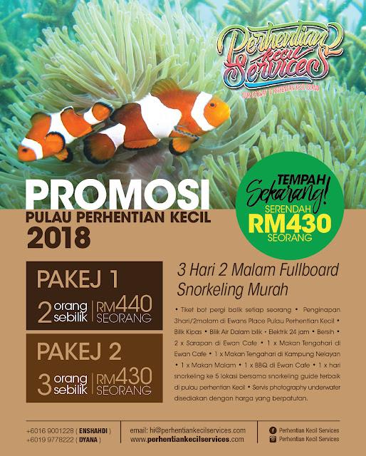 Pakej Murah Pulau perhentian 2018 , Pakej Pulau Perhentian Kecil 2018