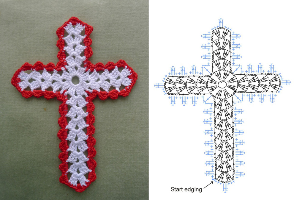 Miss Julias Patterns Free Patterns 10 Religious Crosses To Crochet