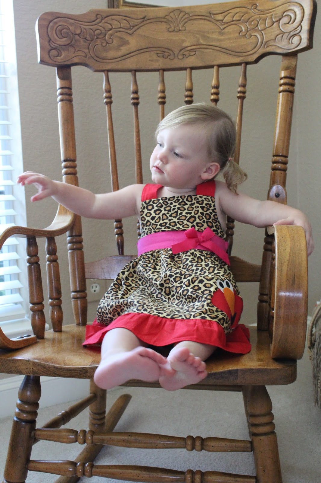 Abby Had A Leopard Elmo Themed Birthday Auntie Found Dress Long Time Ago That Started It All