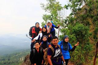 Hiking @ Bukit Berekeh, Sungai Siput Perak