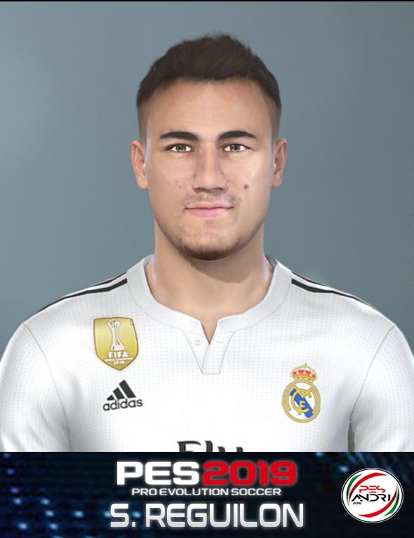 PES 2019 S. Reguilon Face By Sofyan Andri