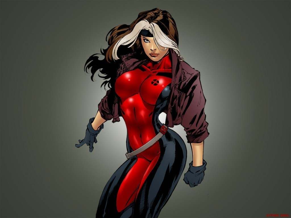 Rogue comic wallpaper - Female cartoon characters wallpapers ...