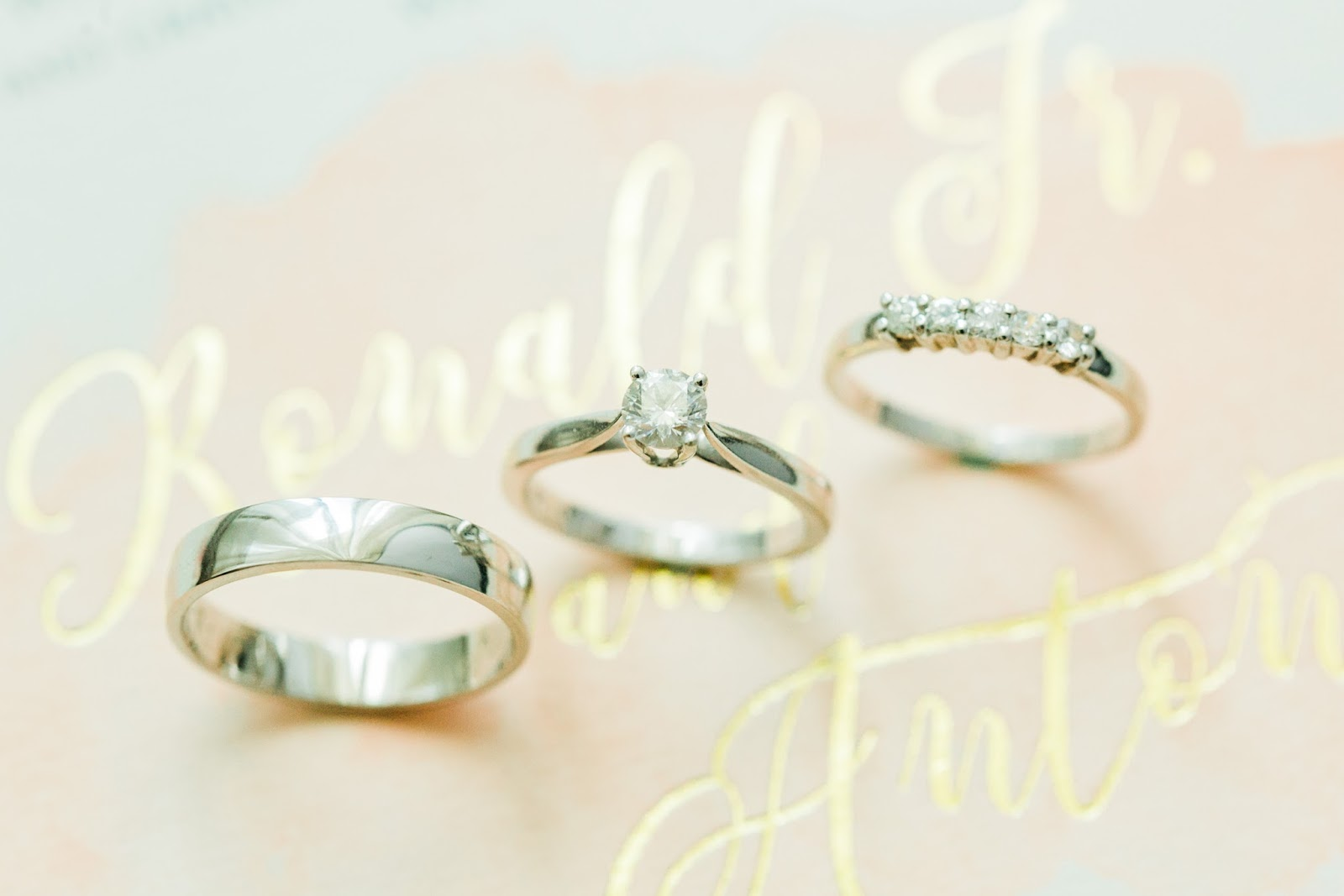 romyisagirl: Wedding Supplier Review: Our Wedding Rings by Tolosa\'s ...