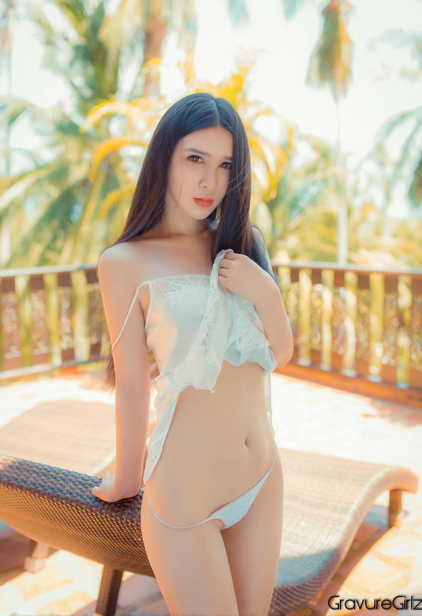 Gu Xinyi 顾欣怡 TGOD推女神 | Underboobs at Samui Island - Page 5