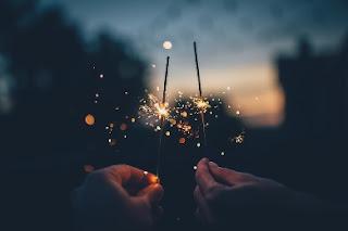 Fuochi d'artificio nuovo anno