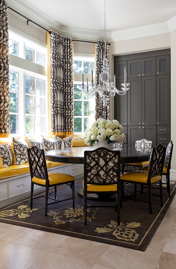 Chinoiserie Chic A Chinoiserie Breakfast Room