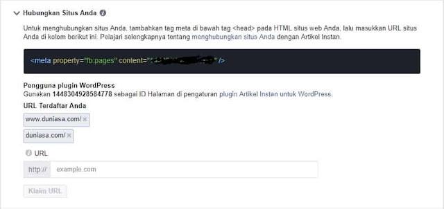fb instan artikel klaim situs