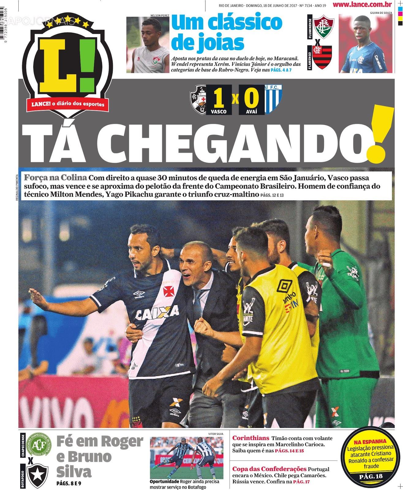 Vasco da Gama supera Avaí e alcança quarta vitória no Rio de Janeiro ... eba1b84bdc420