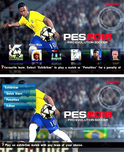 PES 2016 ISO Pacth Galaxy11 V3 Fix PSP Android