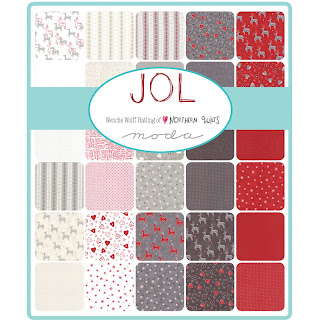 Moda JOL Christmas Fabric by Wenche Wolff Hatling for Moda Fabrics