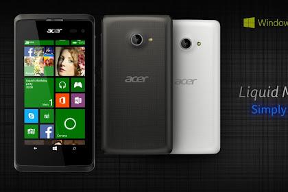 Inilah Daftar Hp Acer Harga 1 Jutaan 4G yang menawarkan Spesifikasi Menarik