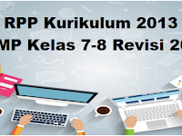 RPP Kurikulum 2013 SMP Kelas 7-8 Revisi 2017