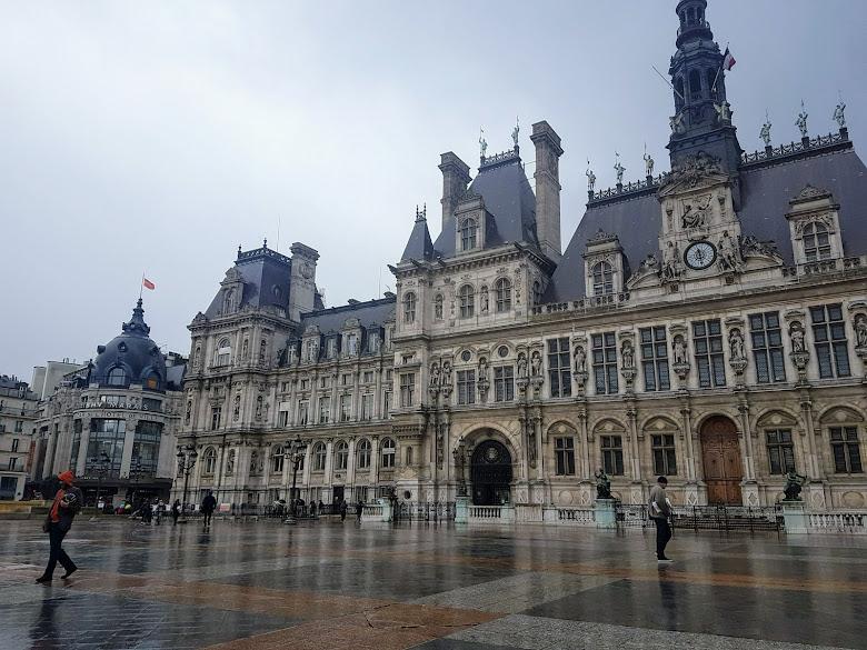巴黎的街景