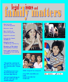 Family Matters home page