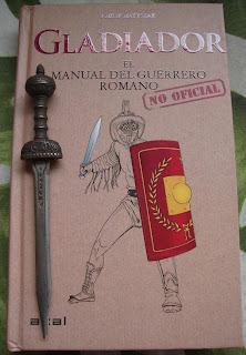 Portada del libro Gladiador, de Philip Matyszak