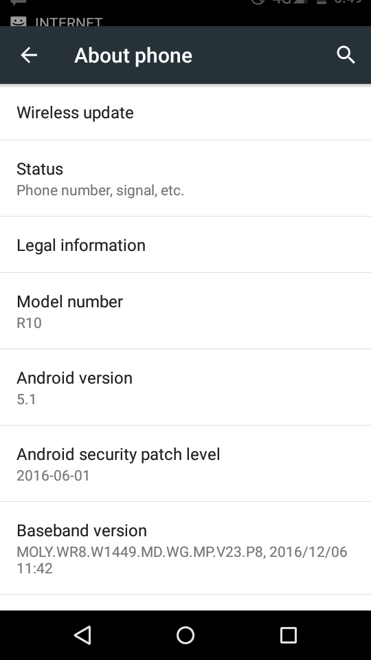 MiOne R10 Flash File MT6580 Android 5 1 Firmware 1000% Ok