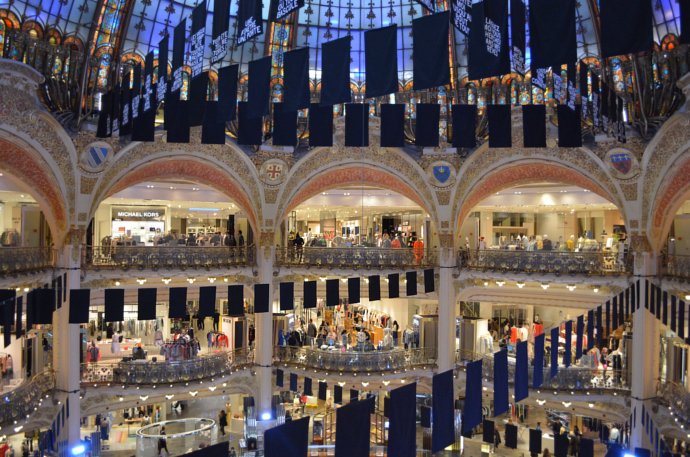 Galeries Lafayette, France, Paris