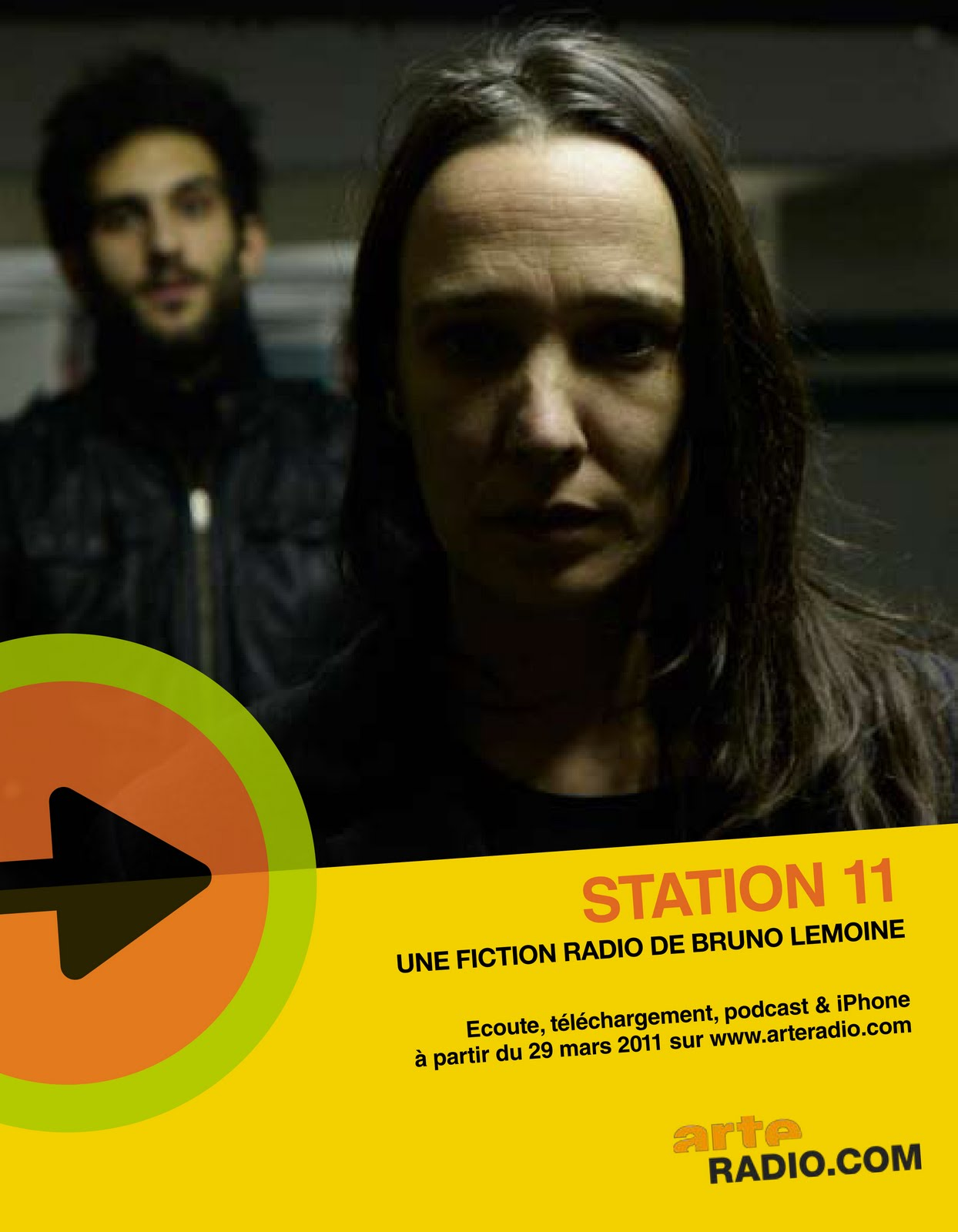 Arte Radio Podcast Anton Mobin Station 11 Fiction Radio Sur Arte Radio