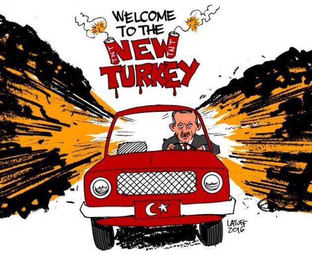 Ο εύκολος τρόπος εκτόνωσης της Τουρκίας είναι Δυτικά