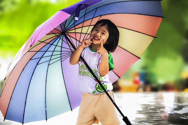 Image: Little Girl With Umbrella, by Truthseeker08 on Pixabay