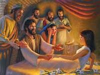 JESÚS RESUCITA A LA HIJA DE JAIRO