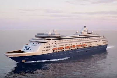 Holland America's Ryndam Now Sailing Australian Waters for P&O Cruises Australia as the Pacific Aria.