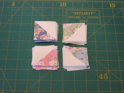 Driehoeken patchwork
