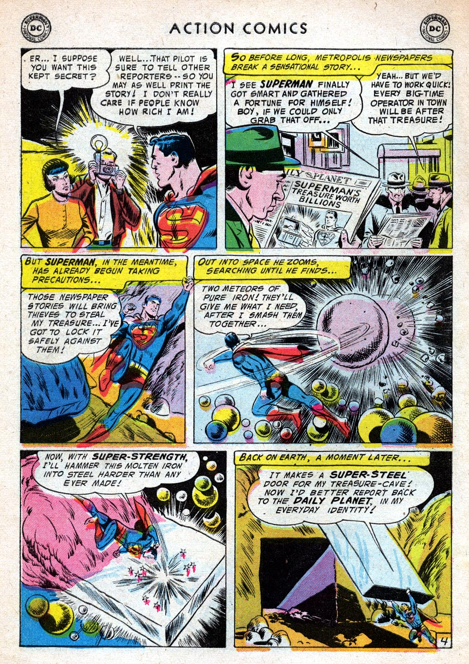Read online Action Comics (1938) comic -  Issue #219 - 6