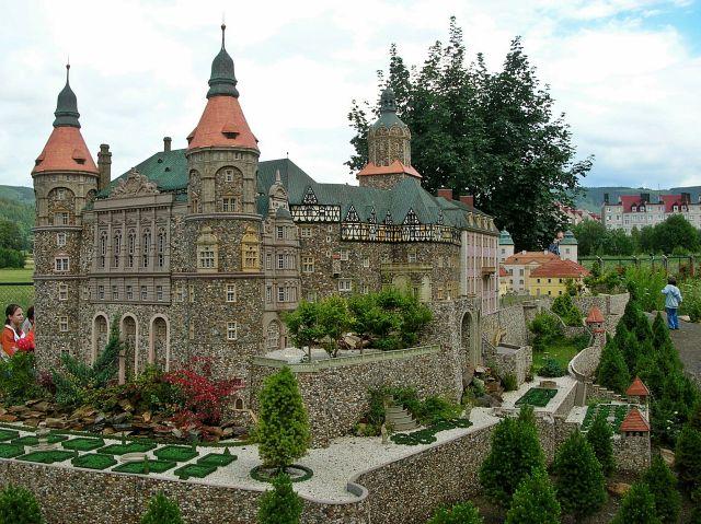 Kowary, miniatury, zamek