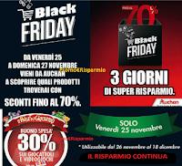 Logo Il Black Friday da Auchan non ha limiti: sconti fino al 70% e non solo