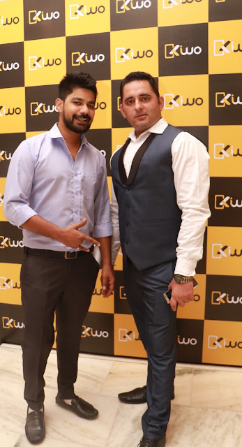 Maswood khan With anurag Batra-