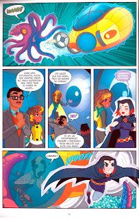 """Comic: Review de """"DC Super Hero Girls: En busca de Atlantis"""" de Shea Fontana y Yancey Labat - ECC Ediciones"""