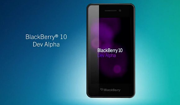 Gambar Blackberry 10 Dev Alpha
