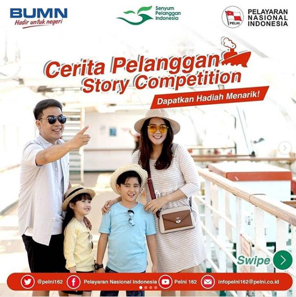 Quiz Gratis PELNI Cerita Pelanggan Story Competition 2018