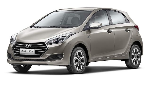 Hyundai HB20 e HB20S 2019 Automático 1 Milion: preços