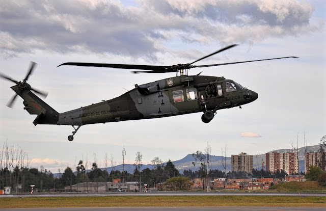 s-70 sikorsky colombian army