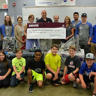GarverGives contributes to local robotics camps