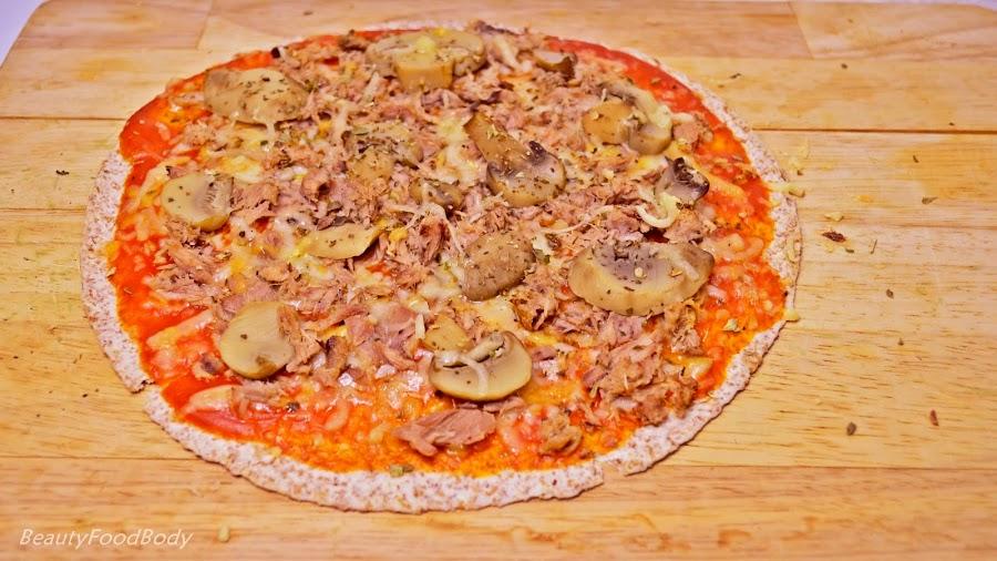 receta fitpizza fit light pizza recipe