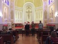 Visite de la chapelle de Valmaria guidée par P. Alvaro Torres