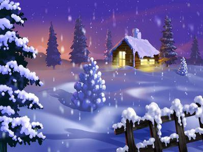julhalsning-julgran-vinter