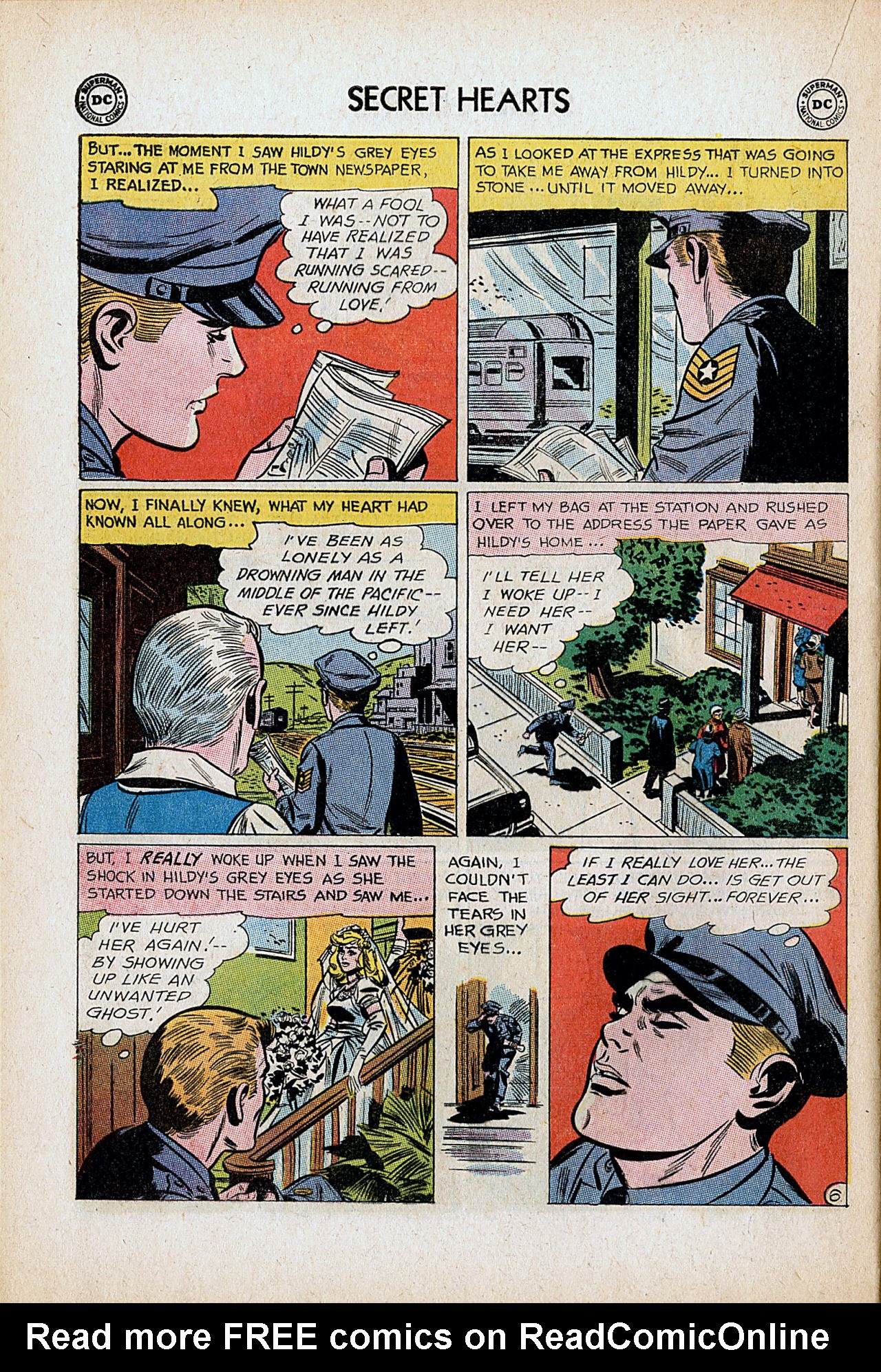 Read online Secret Hearts comic -  Issue #86 - 16