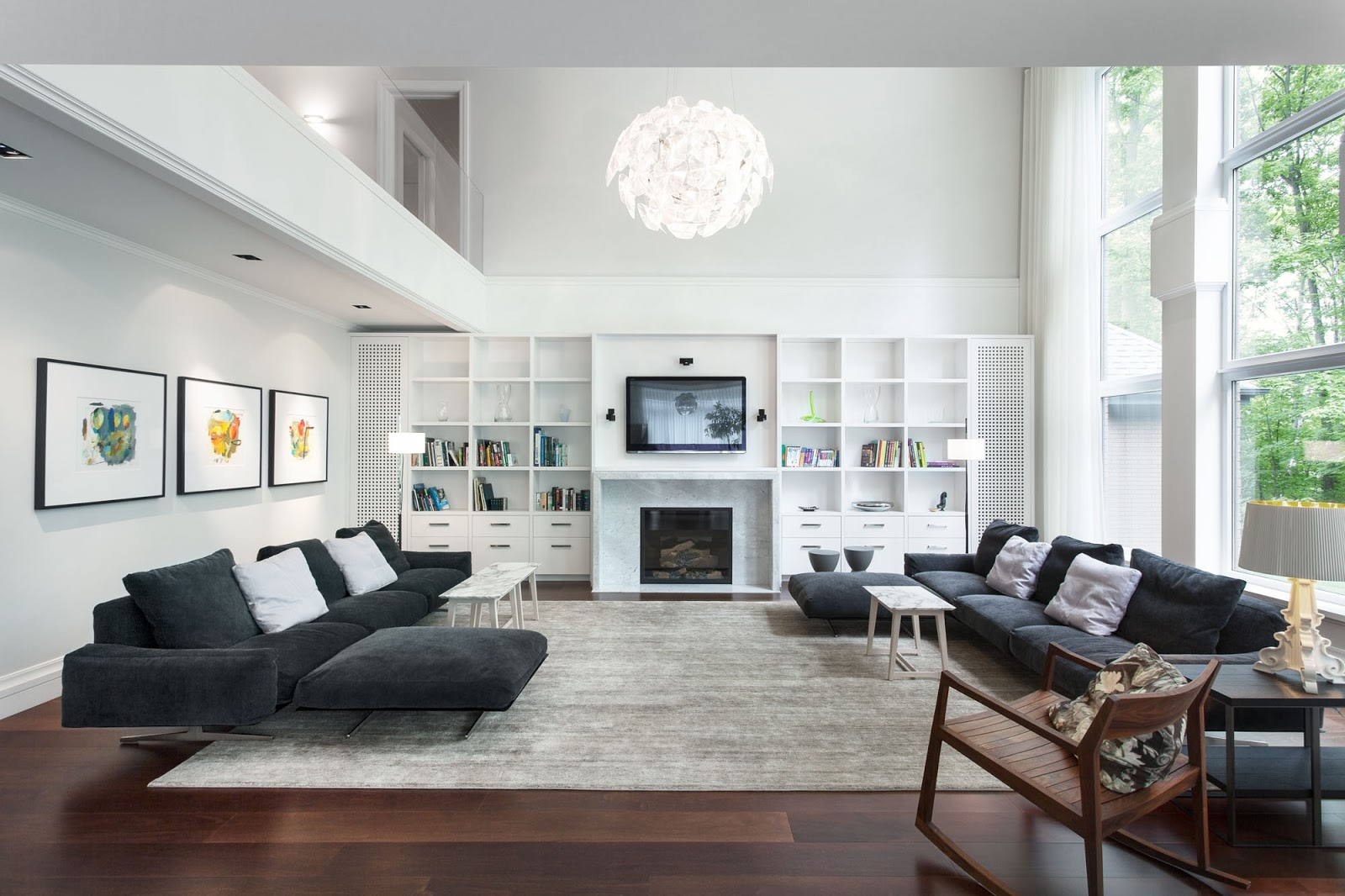 White Lounge Room Thoughts With White home Embellishments ! Home Decor