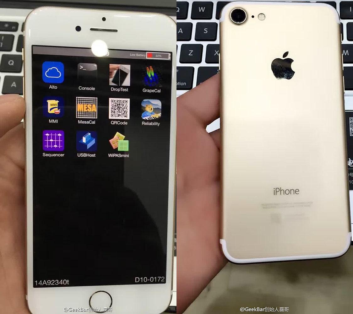 thatgeekdad: Working iPhone 7 prototype appears