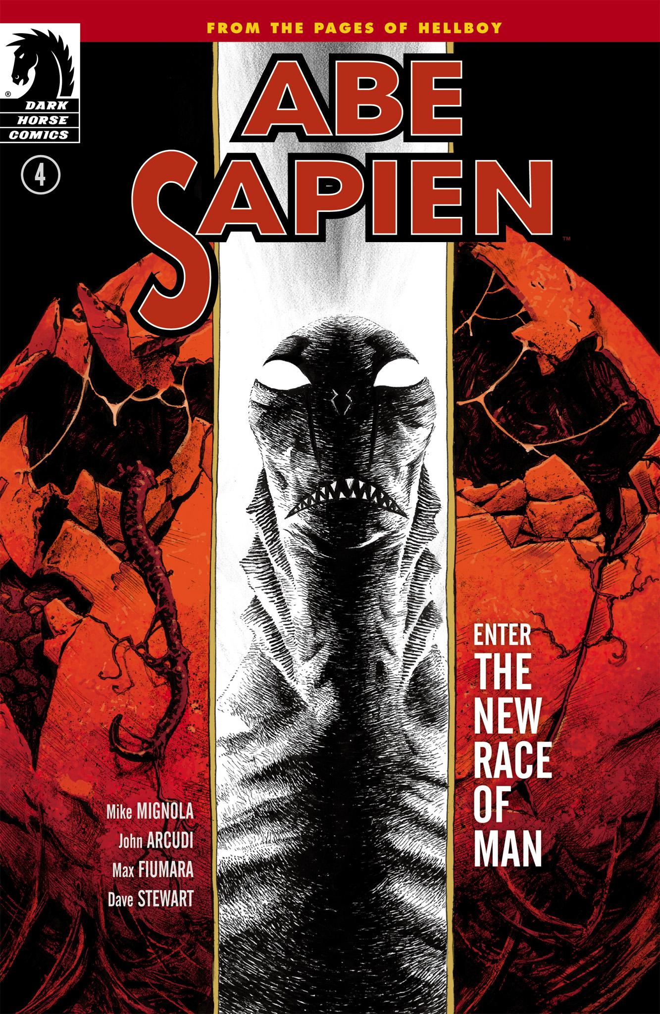 Read online Abe Sapien comic -  Issue #4 - 1