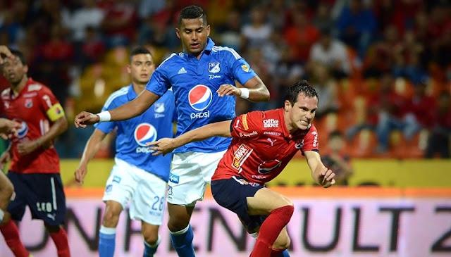 Medellin vs Millonarios en vivo