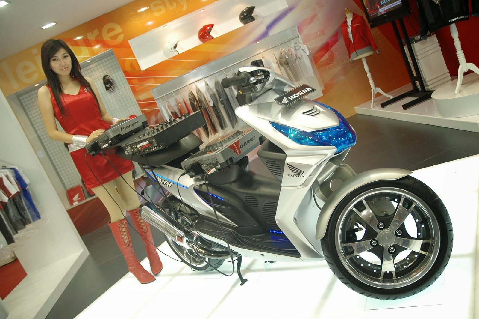 Download Modif Honda Beat Pgm Fi 2015 Terkeren