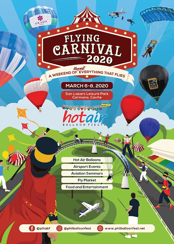 Hot Air Balloon Festival 2020 in Cavite PIHABF