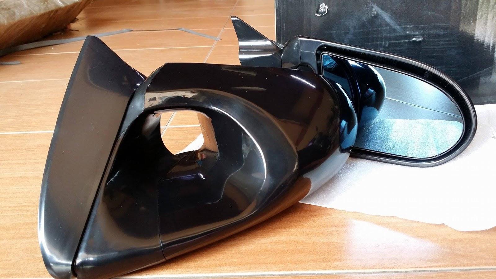 Pro Racing Part Blue Mirror Side Ganador Gen2 Persona Wiring Fog Lamp