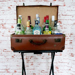 DIY Faux Bar Table