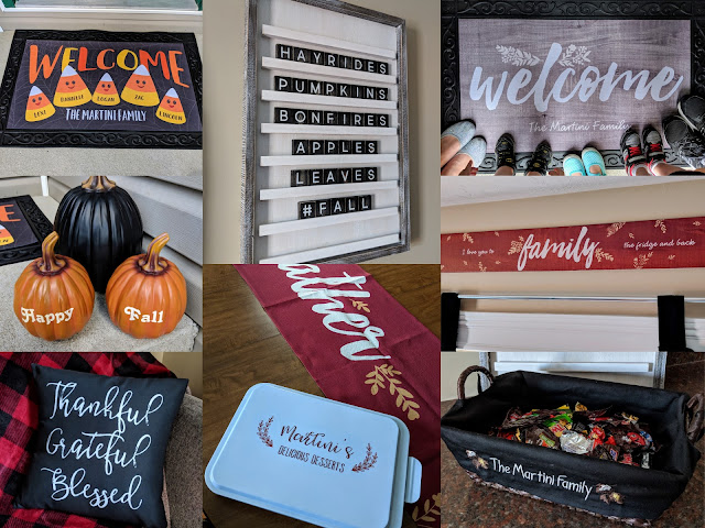 personalized decor, fall decor, Halloween decor, home decor, personalize fall decor, personalized Halloween decor, gift ideas,
